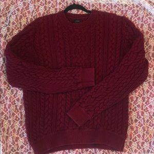 J Crew heavy duty sweater. XL beautiful color!